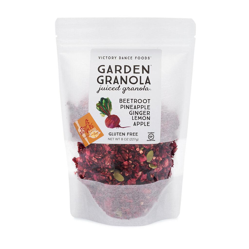 Garden Granola, Beetroot Ginger