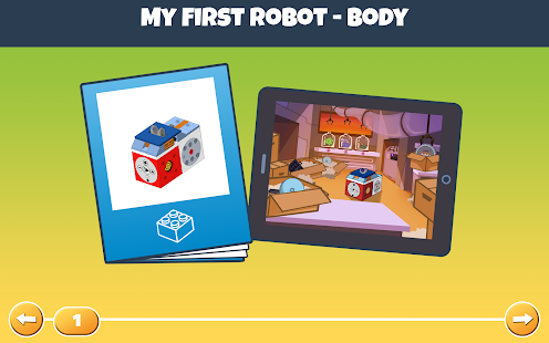 My First Robot App - náhled