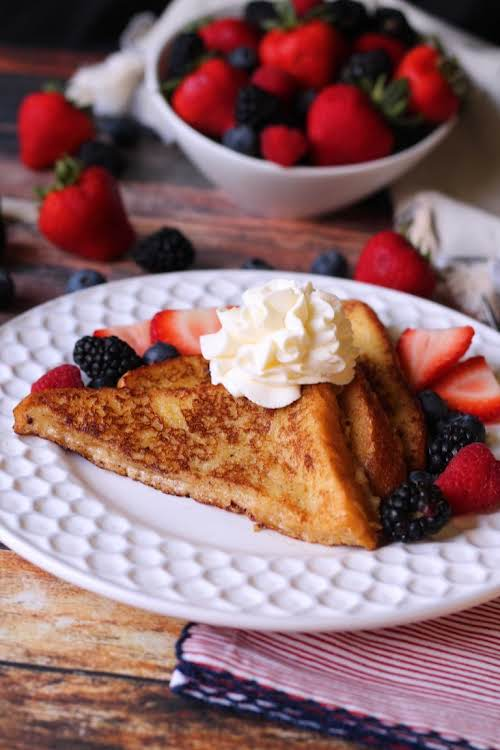 "Brioche French Toast""I am here to tell you Brioche Bread makes the..."