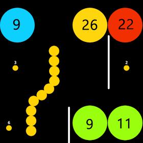 Snake V/s Circle