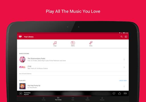 iHeartRadio - Free Music, Radio & Podcasts  screenshots 10