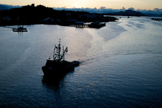 Photo: After riding in the Willamette Valley, arrived in Sitka, AK for some R&R.