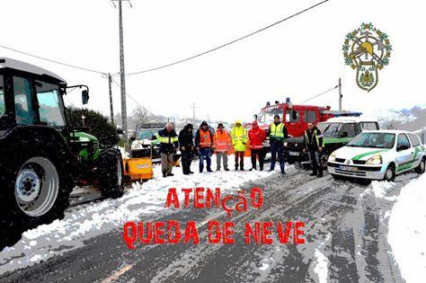 Alerta de queda de neve - Lamego