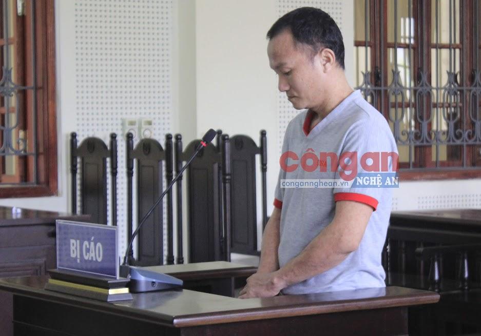 Bị cáo Nguyễn Văn Dương tại tòa