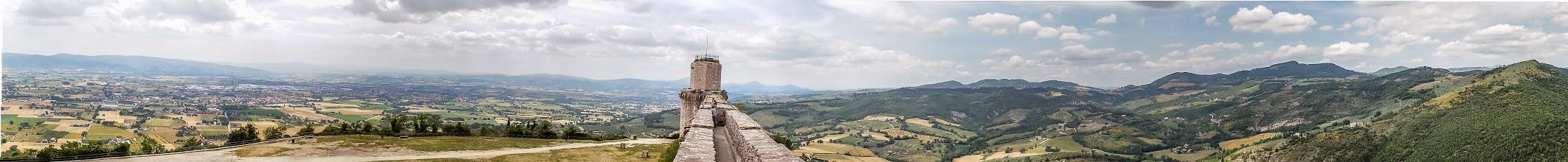 Photo: View from Rocca Maggiore