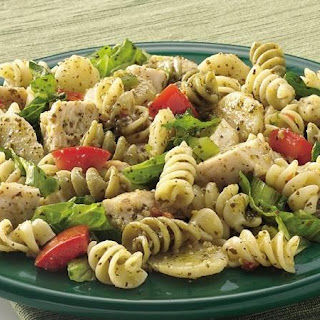Chicken Pesto Salad.