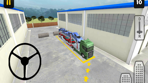 Truck Simulator 3D: Car Transport 1.0 screenshots 6