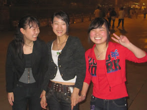 Photo: Day 189 -  Young Girls  in Tiananmen Square