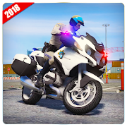 Police Motorbike Game : Bike Racing Games