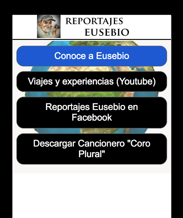 Reportajes Eusebio- screenshot