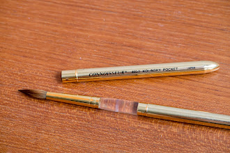 Photo: Connoisseur Kolinsky Sable Pocket Watercolour Brush - http://www.parkablogs.com/node/10838