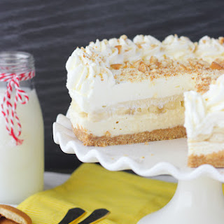 No-Bake Banana Pudding Cheesecake