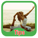 Yoga and Health Tips icon