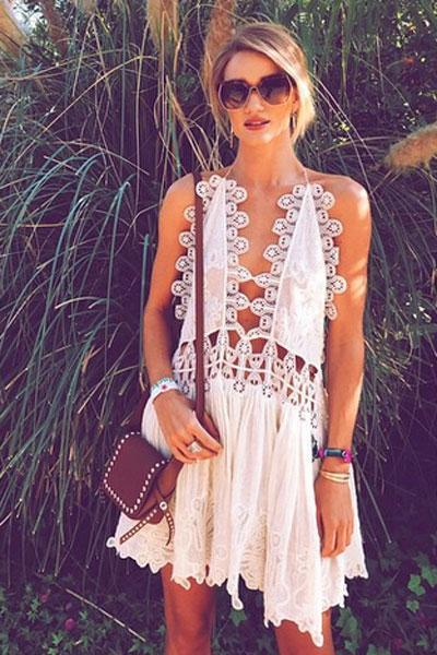 Rosie Huntington-Whiteley was our best dressed festival goer [RHW/Instagram]