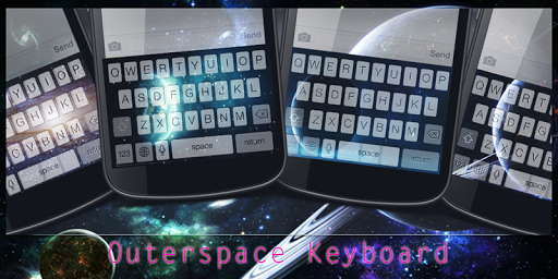 Outerspace Keyboard Theme