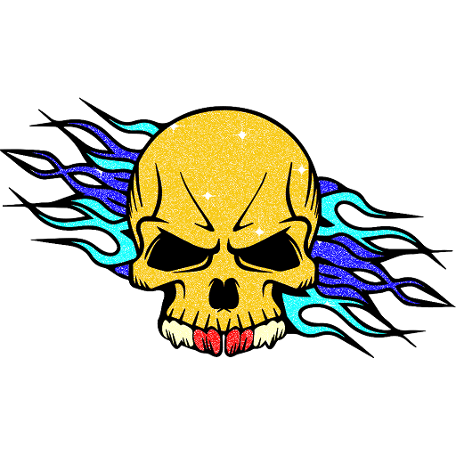 Tattoo Glitter Color by Number - Sandbox Coloring Icon