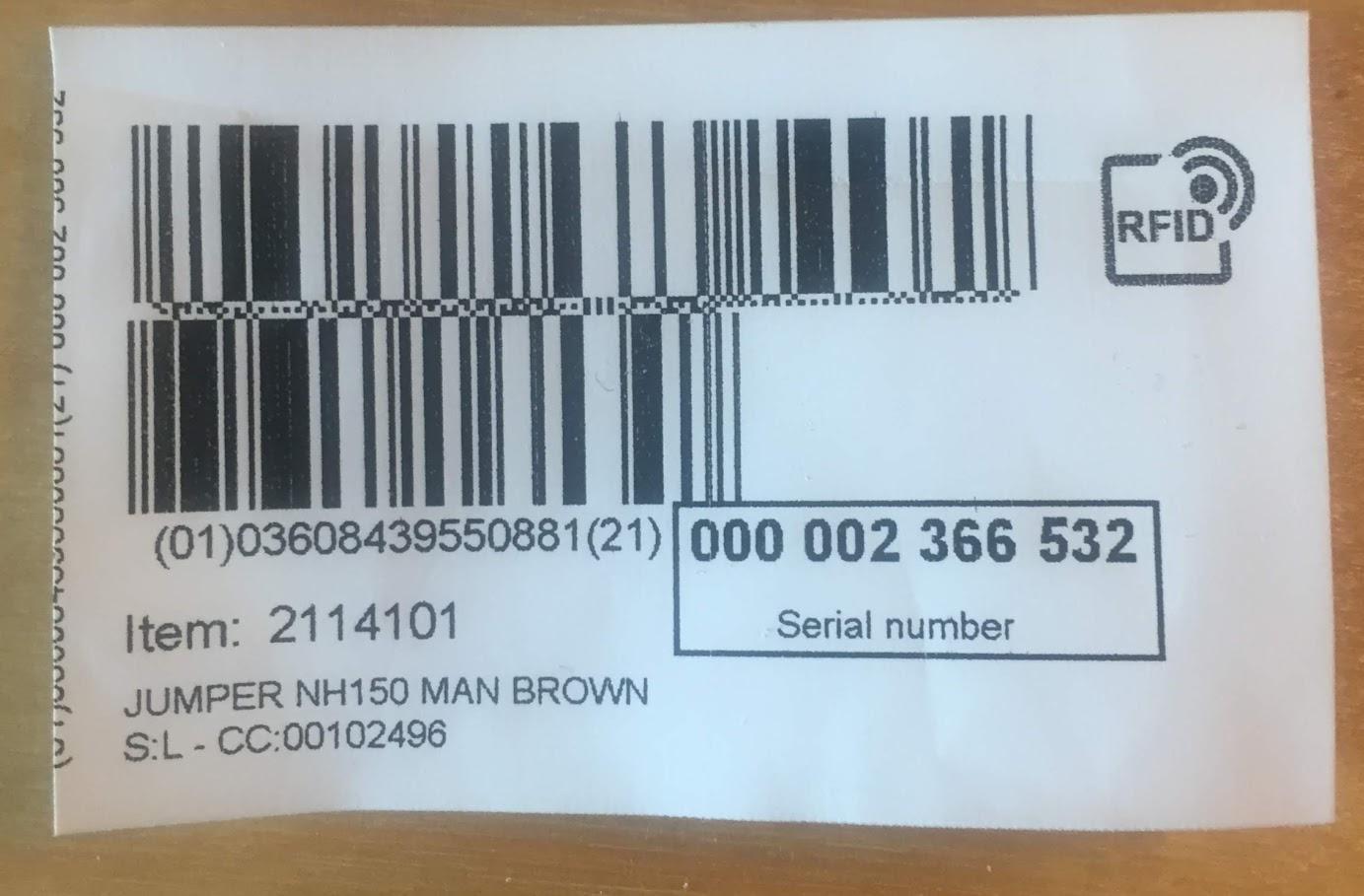 RFID, l'étiquette anti-vol