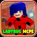 Mod Noir Lady Bug for Minecraft PE icon