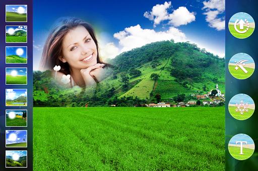 Green Hills Photo Frame