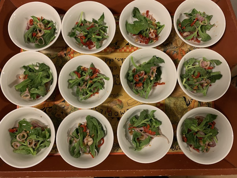 Crunchy Ice Plant Salad