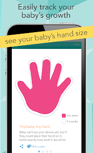 Download Ovia Pregnancy Tracker & Baby Countdown Calendar For PC Windows and Mac apk screenshot 2