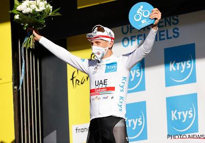 """Pogacar op zijn 21ste ook in de Tour al veelbelovend en dat ondervindt zeker Bernal: """"Nog specialer dan in Vuelta"""""""