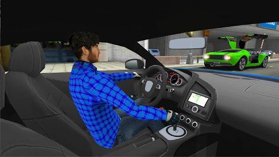 Sportwagen Fahrsimulator 2018 Screenshot