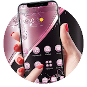 Pink Black Business Theme