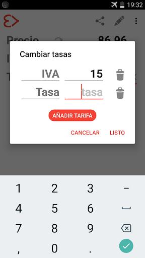 Calculadora de IVA screenshot