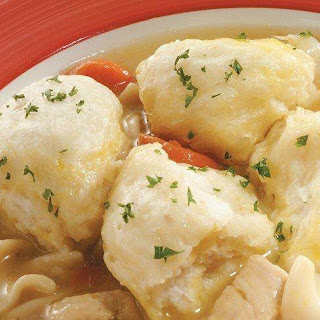 Chicken Soup and Easy Dumplings.