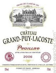 Grand Puy Lacoste - Pauillac