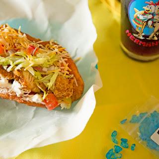 Breakfast Chicken Chalupa.