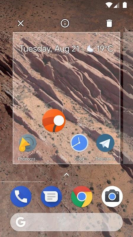 Rootless Launcher screenshots