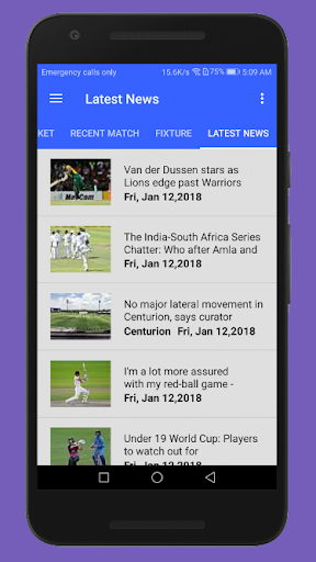 Live Cricket HD 3.1 screenshots 5