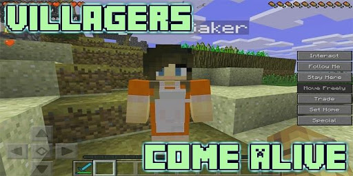 Villagers Come Alive Mod for MCPE 5.0 screenshots 2