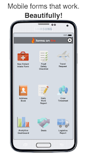 Forms On Fire - Mobile Forms- screenshot thumbnail