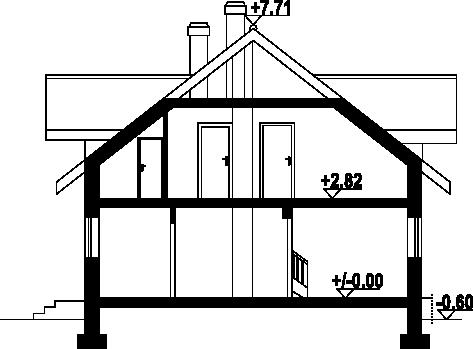 Dziekanowo - Przekrój