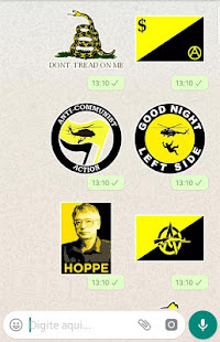 Download WAStickerApps Libertarianism Stickers for Whatsapp For PC Windows and Mac apk screenshot 2