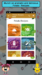 Potato Recipes Cookbook - náhled