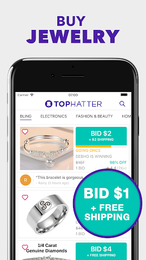 Tophatter: Fun Deals, Shopping Offers & Savings 2.76.0 screenshots 2
