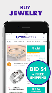 App Tophatter: Fun Deals, Shopping Offers & Savings APK for Windows Phone