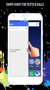Messenger Home - Launcher with SMS Home Screen screenshot