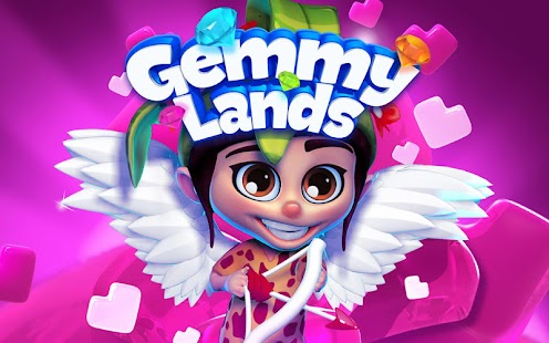 Gemmy Lands: Gems and New Match 3 Jewels Games