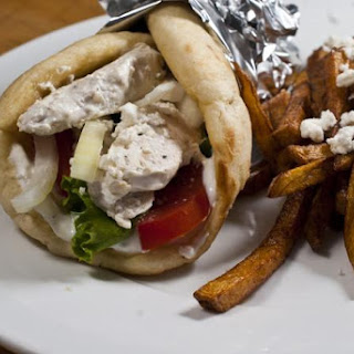 Baked Chicken Gyro