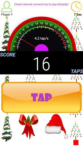 Tap Per Second - Speedometer  captures d'écran 2