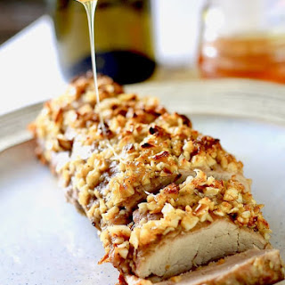Brown Sugar & Garlic Crusted Pork Loin Recipe