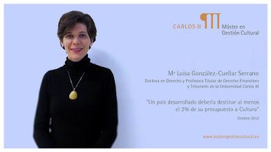 Photo: Mª Luisa González-Cuellar Serrano - Fiscalidad de la cultura