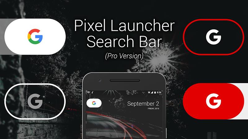 Custom Search Bar Widget CSBW Screenshot 4