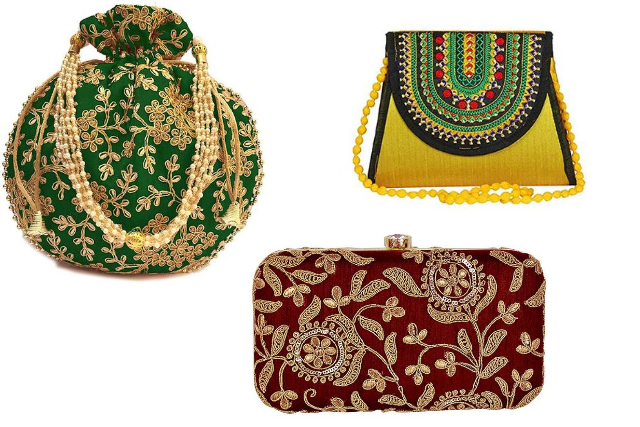 Traditional Ethnic  Hand Bag