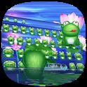 Green HD frog keyboard icon